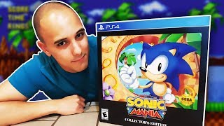 Sonic Mania Collector's Edition (PS4) Unboxing