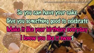 Katy Perry - Birthday [Lower Key Karaoke / Instrumental]