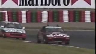 Ayrton Senna Driving a Honda Civic EF