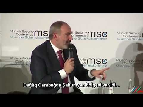 Президент Азербайджана Ильхам Алиев заткнул рот президента Армении Никола Пашиняна #новости #карабах