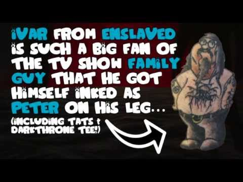 ENSLAVED - Ivar vs Family Guy (OFFICIAL...