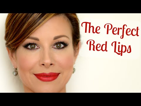 Flawless Red Lips Tips & Tricks