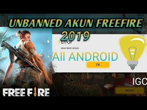 Unbanned device free fire/cara mengatasi akun ff terkena banned #1