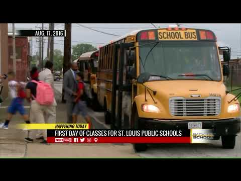 First Day Of Class For St  Louis Public Schools