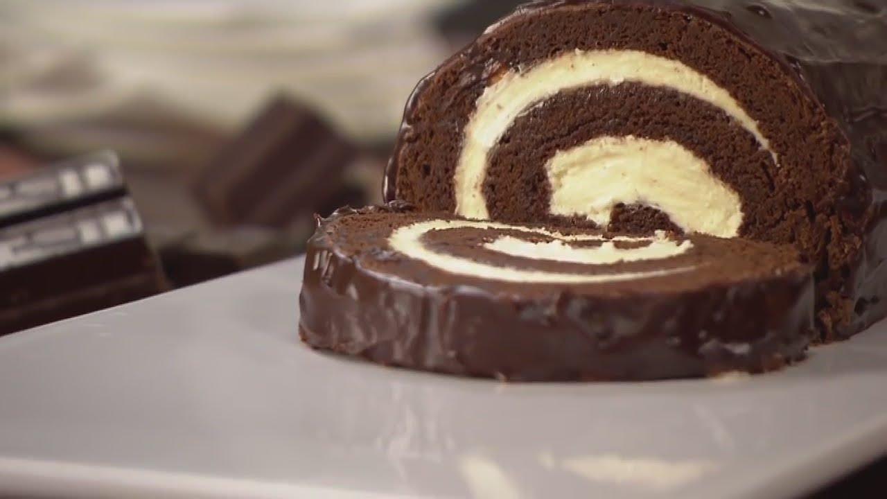 Как приготовить рулет шоколадный