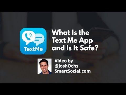 What Is The Text Me App And Is It Safe? From Smart Social Josh Ochs