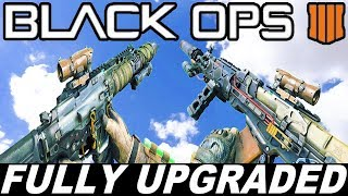 Call Of Duty Black Ops 4 - Inspection of All Fully Upgraded Weapons