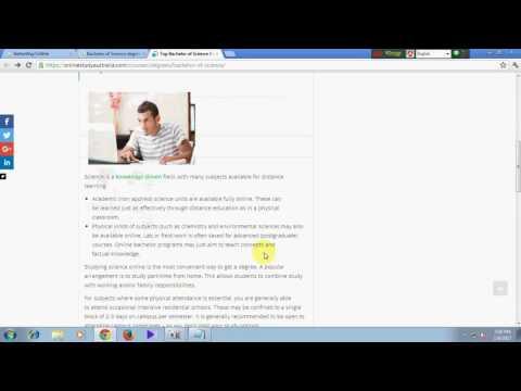 Bachelor of Science Degrees  Online Study in Australia