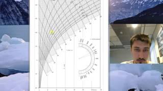 Вентиляция и кондиционирование: как пользоваться I-D (h-d) диграммой.(В данном видео описывается как найти параметры влажного воздуха зная температуру и относительную влажность., 2016-06-07T19:31:02.000Z)