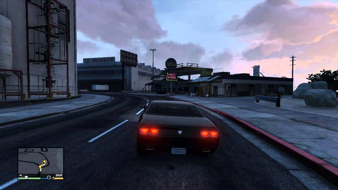 Grand Theft Auto 5 GTA5 GauntletGetaway car 3Mission Row Gold