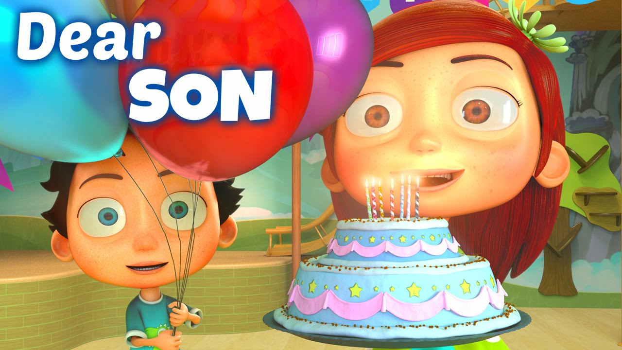 Happy Birthday Song To Son Youtube