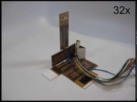 3-D Printed Robotic Lamp Assembles Itself