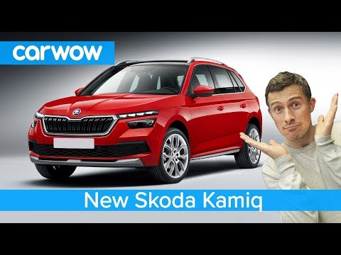 New Skoda Kamiq SUV 2020 - see why it's a better buy than a VW T-Roc!