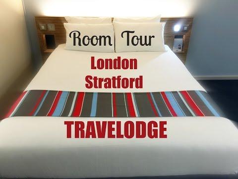 London Stratford Travelodge Room Tour
