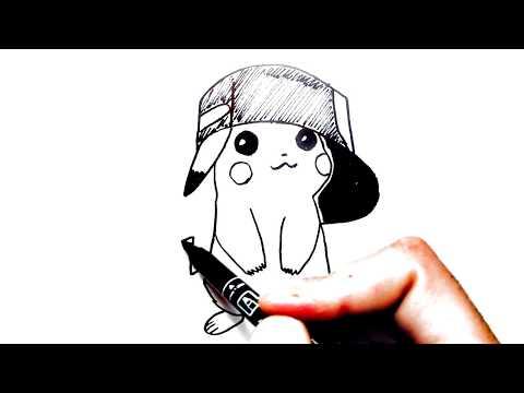 Рисунки Пикачу ❤ Рисунок срисовка ❤😀