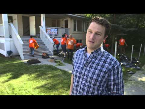 Boys and Girls Clubs of Calgary Shelter Refurbishment Project with The Home Depot Canada Foundation