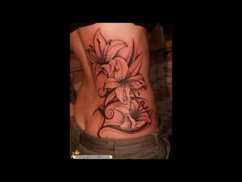 Best Flower and Butterfly tattoos