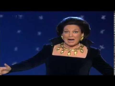 Edda Moser - Arie Königin der Nacht Mozart, Zauberflöte 1999
