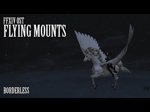 FFXIV OST Flying Mount Theme ( Borderless )