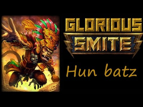 SMITE Hun batz Jungle (Hun Batz damage build) ~ Go bananas man!