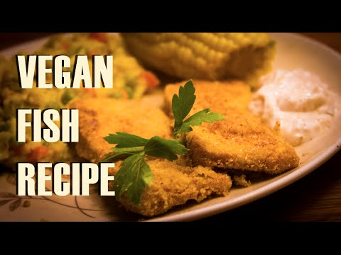 VEGAN FISH RECIPE  |  Fish-Fried Tofu (w/ Hannah Brown)