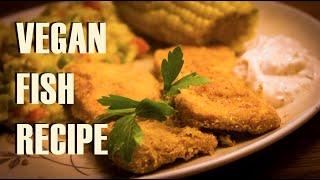 vegan fish recipe   fish fried tofu w hannah brown