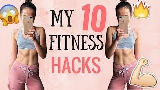 Mých 10 FITNESS HACKŮ I Jak do léta zhubnout?