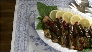 Vegetarian Recipes - How to Make Roasted Eggplant