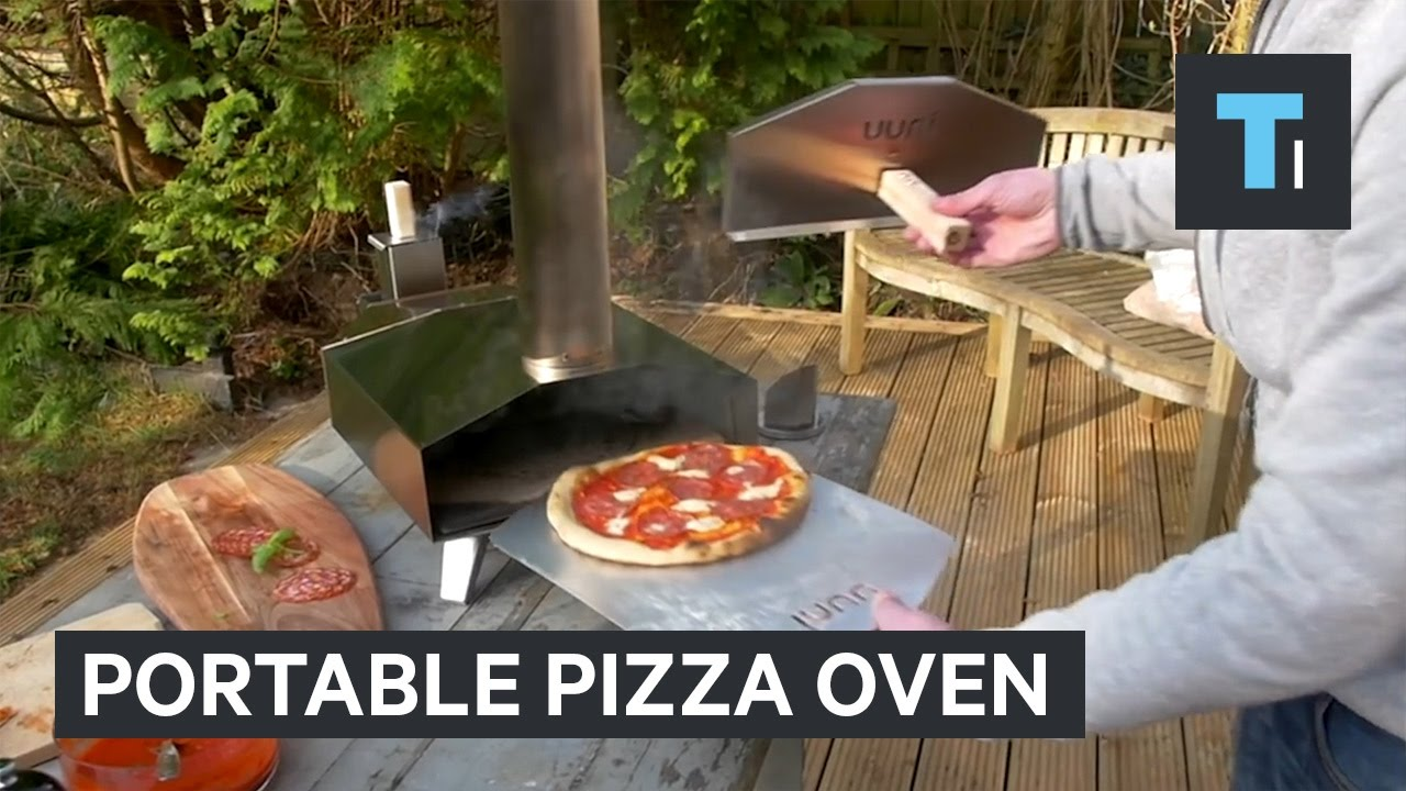 You can make pizza anywhere with this portable mini-oven ...