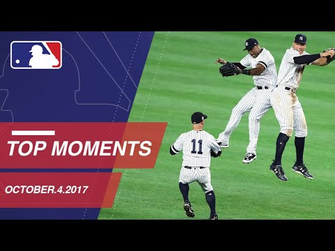 Check out 10 moments from the AL Wild Card: 10/3/17