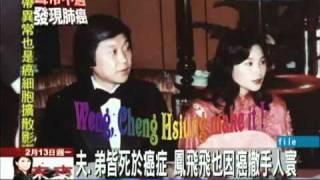 鳳飛飛與夫婿趙宏琦同命 皆罹肺癌過世