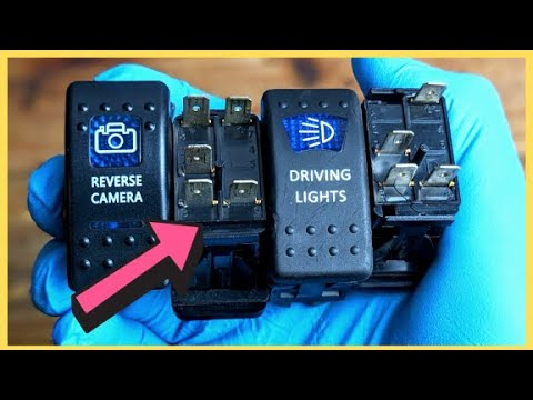 how to wire 12v led rocker switch  simple guide and wiring explanation