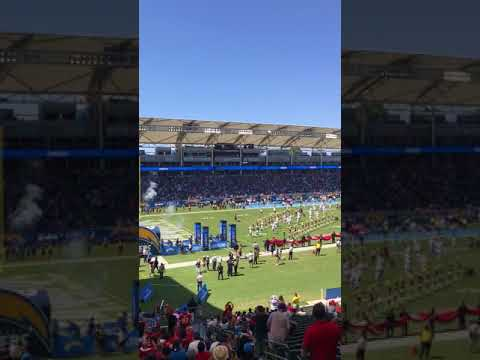 Stubhub Center Chargers Seating Chart Section 136 View From My Seat