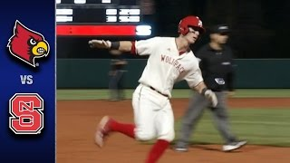 Louisville vs. NC State Baseball Highlights (March 24, 2016)
