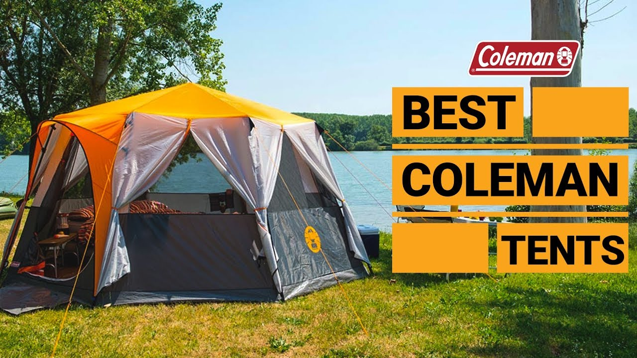 5 Amazing Family Camping Tents from Coleman