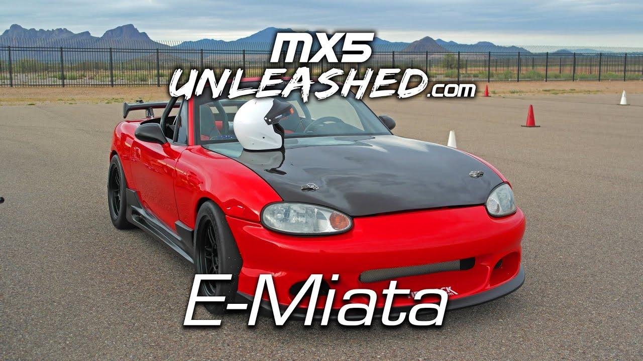 Electric Miata Autocross Run And Latest Updates