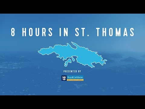 8 Hours In The Royal Caribbean: St Thomas