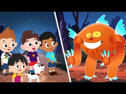 Supercar Rikki Finds Monster in House Rescue Kids   Cars Cartoon Rhyme  