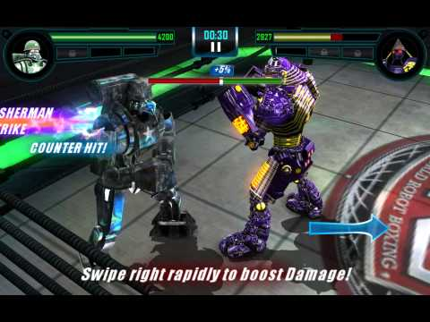 Real Steel WRB Sarge VS Noisy Boy NEW updating