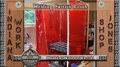 Welding Curtain Booth for Sparks & Shop Safety