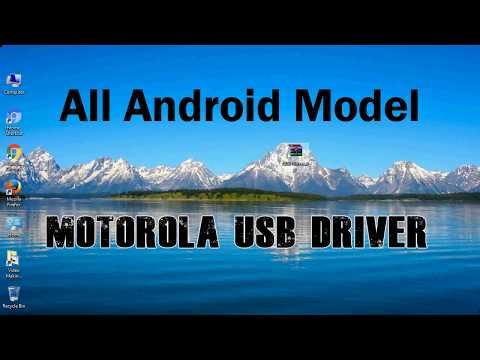 How To Install Motorola USB Driver For Windows | ADB And FastBoot