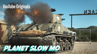 Download WWII Tanks Firing in Slow Motion Mp3 and Videos