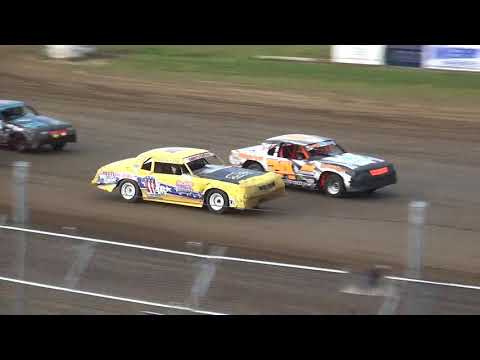 IMCA Hobby Stock Heats Independence Motor Speedway 8/4/18