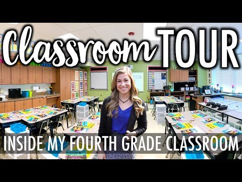 CLASSROOM TOUR 2017 2018 | Teacher Evolution Ep 4
