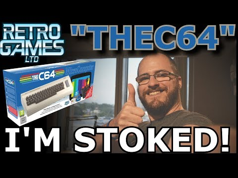 Geek Therapy Radio - The NEW Commodore 64! I'm in geek Heaven...