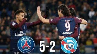 PSG vs Strasbourg 5-2  / All Goals & Highlights