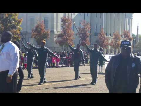 "Jim Hill High School Marching Band at the 2016 COJ Holiday Parade ""Christmas in the Capital"""