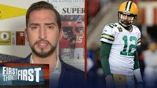 Packers drafting Jordan Love is slap in the face to Aaron Rodgers — Nick | NFL | FIRST THINGS FIRST