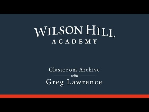 Classroom Archive with Greg Lawrence