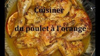 Cuisiner du poulet à l